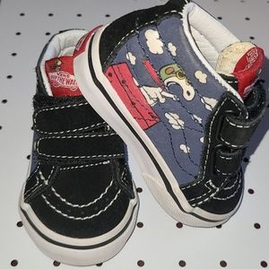 Peanuts by Schulz Size 3 Toddler Vans